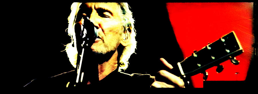 Roger Waters Photograph - Roger Waters Portrait 2.0 by Stefano Filesi