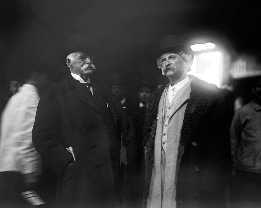 1890 Photograph - Rogers And Clemens, C1900 by Granger