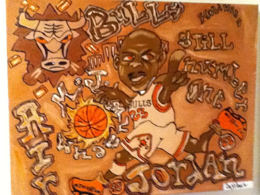 Jordan Painting - Roll In Rock by Holiwood