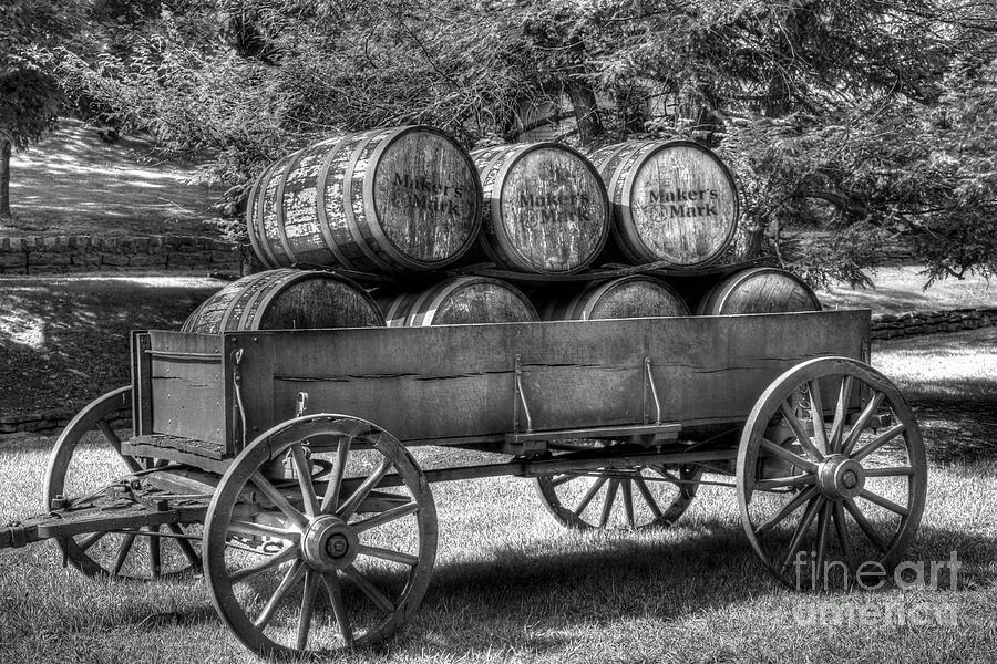 Barrels Photograph - Roll Out The Barrels by Mel Steinhauer
