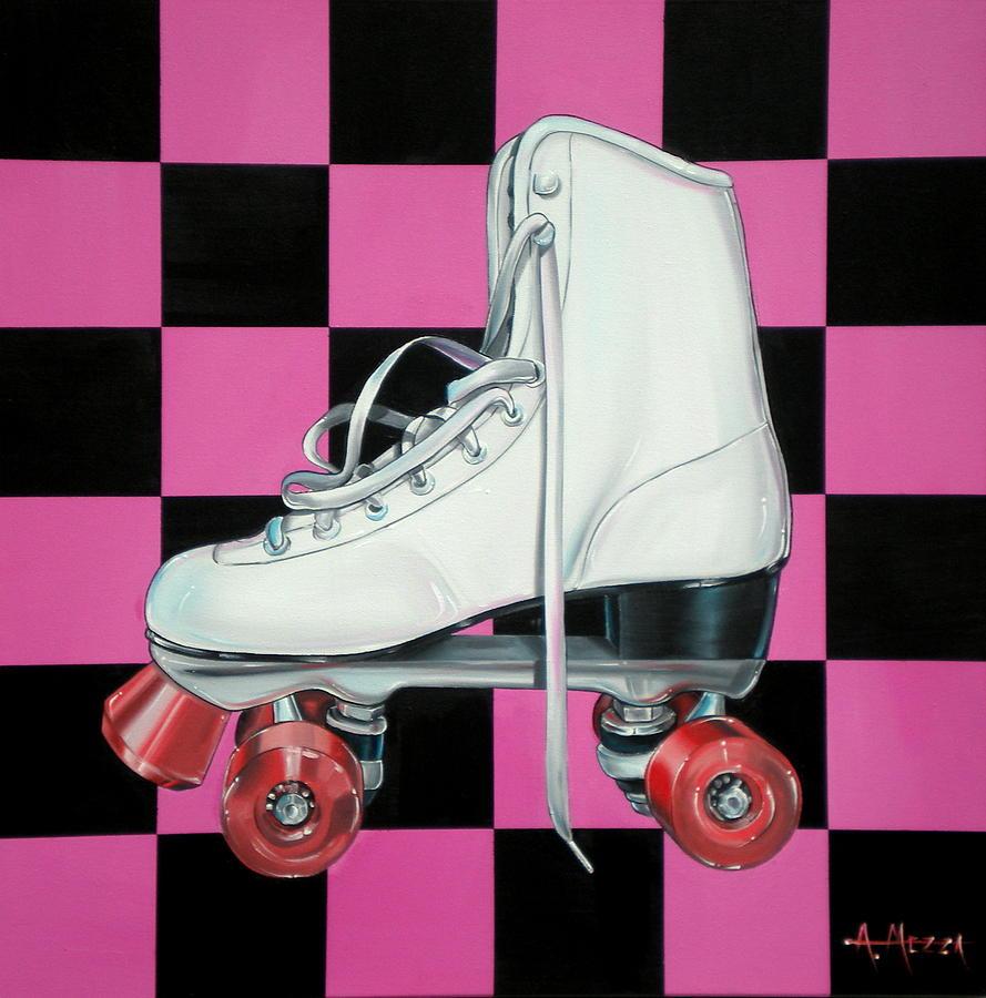 Roller Skate Painting - Roller Skate by Anthony Mezza