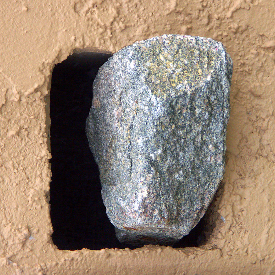 Abstract Photograph - Rolling Back The Stone by Tom Romeo