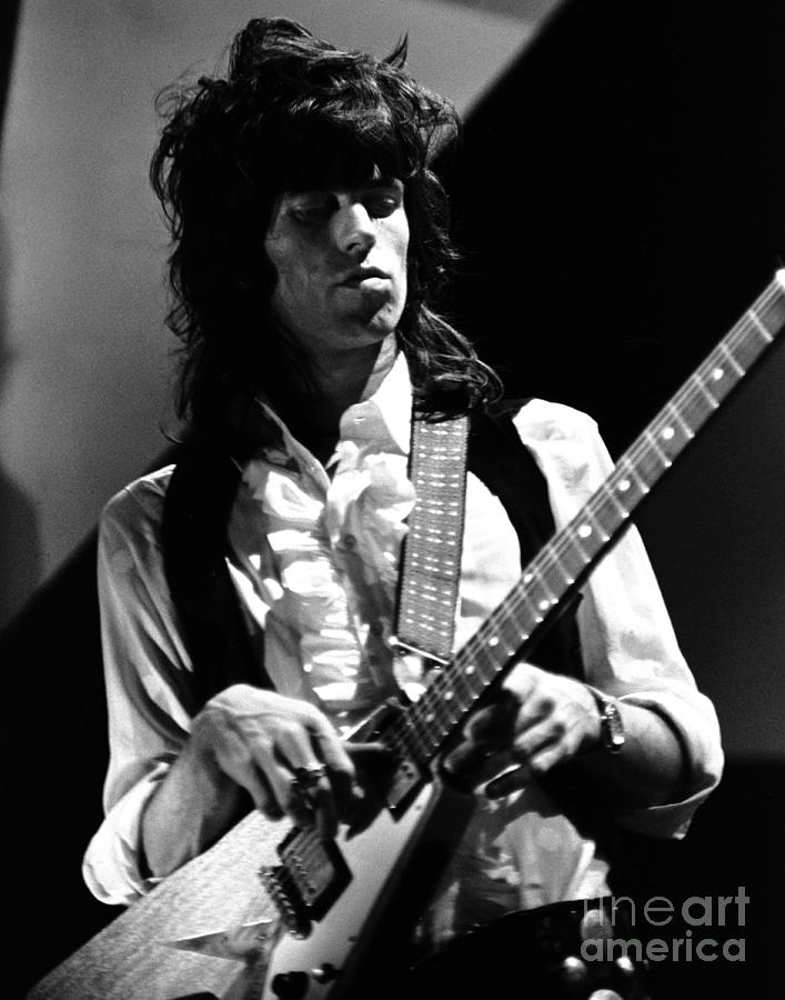 Rolling Stones Photograph - Keith Richards Rolling Stones  1969 by Chris Walter