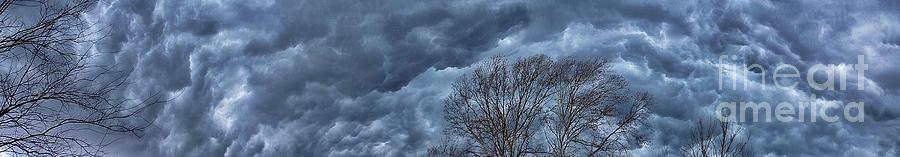 Clouds Photograph - Rolling Thunder by AK Photography