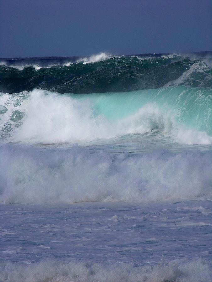 Surfing Photograph - Rolling Thunder by Karen Wiles