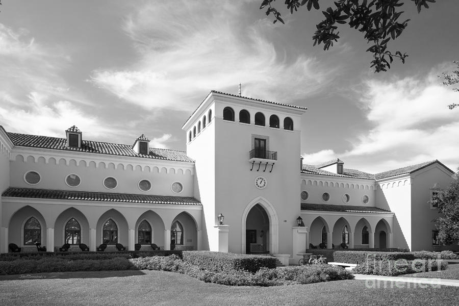 Olin Library Photograph - Rollins College Olin Library by University Icons