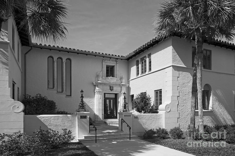 Rollins College Photograph - Rollins College Warren Administration Building by University Icons
