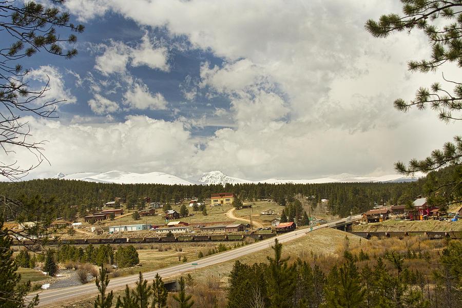 Rollinsville Colorado Photograph - Rollinsville Colorado by James BO  Insogna