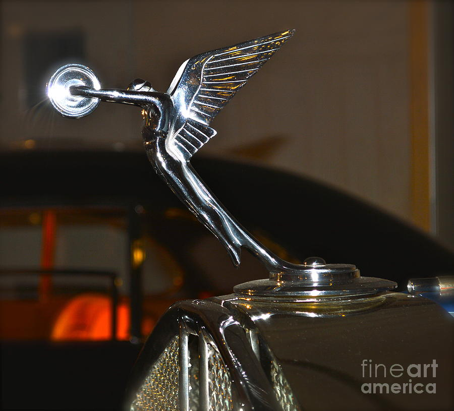 rolls royce emblem photograph by pamela walrath. Black Bedroom Furniture Sets. Home Design Ideas
