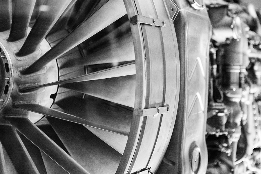 Rolls Royce Olympus Jet Engine Photograph By Peter Handy