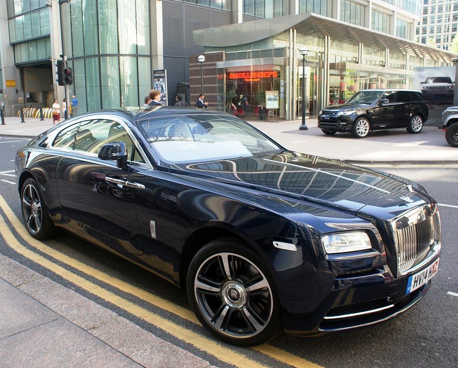 Rolls Royce Wraith Photograph By Martin Jones