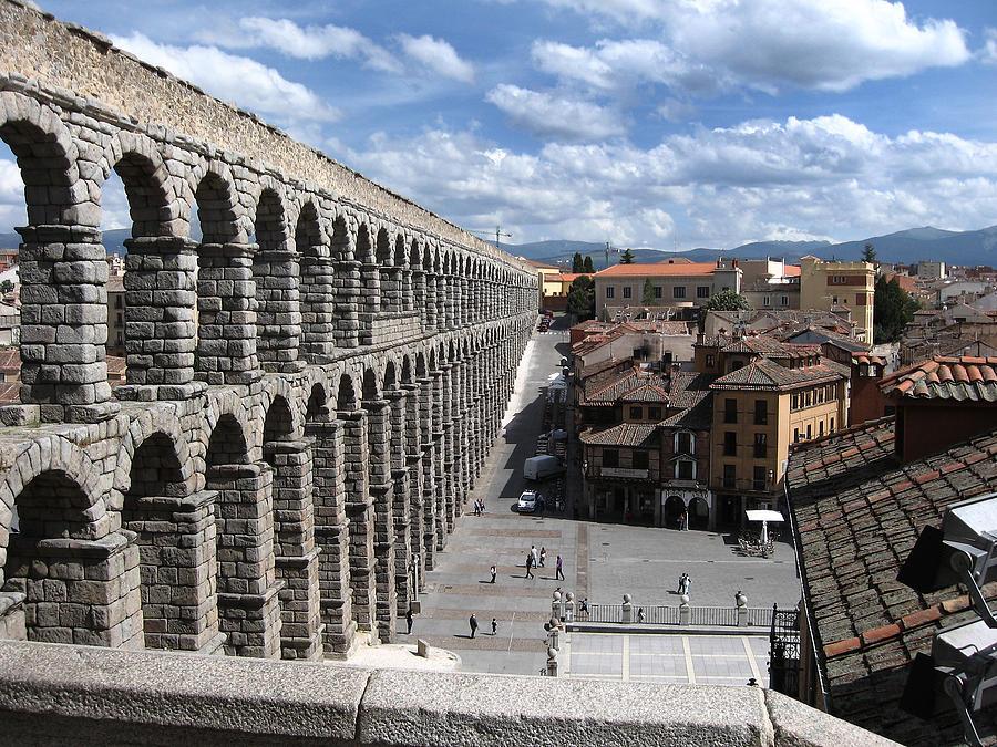Roman Photograph - Roman Aqueduct I by Farol Tomson