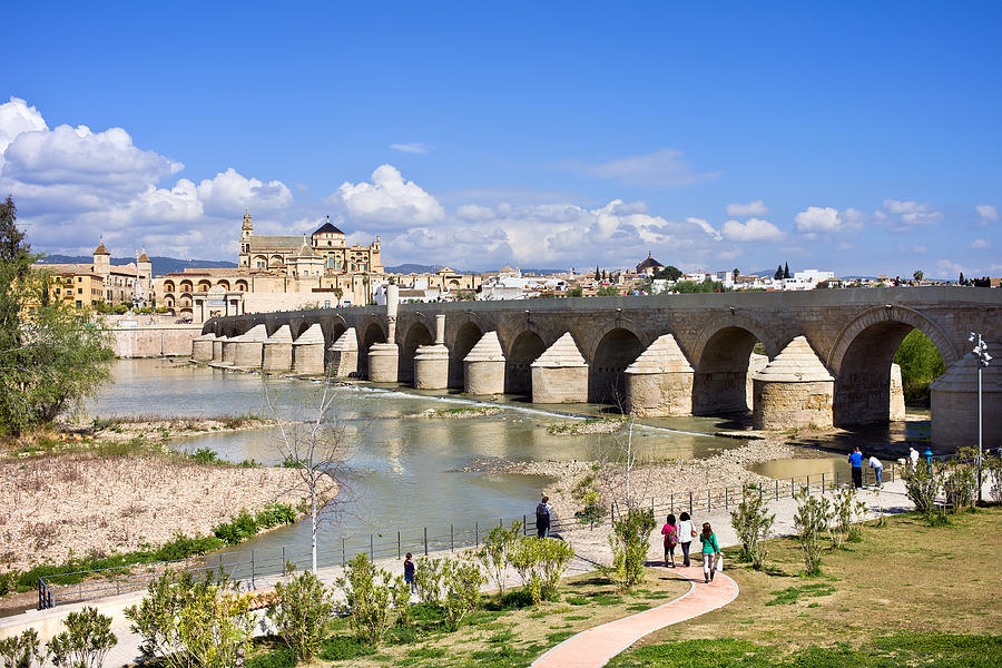 Ancient Photograph - Roman Bridge In Cordoba by Artur Bogacki