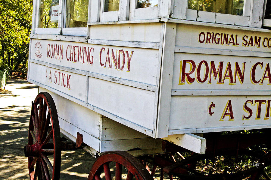 New Orleans Photograph - Roman Chewing Candy by Scott Pellegrin
