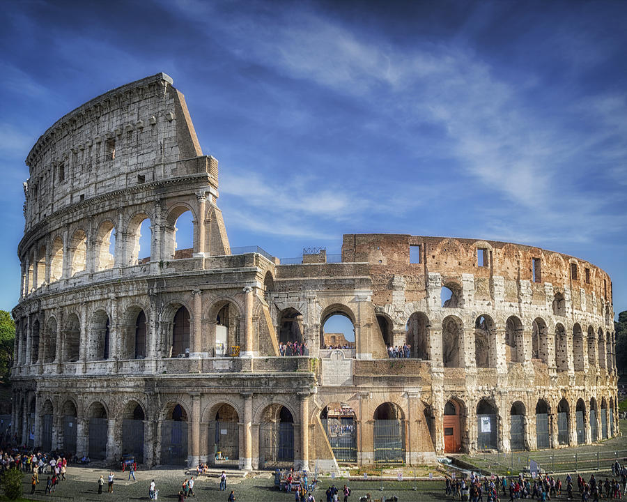 Joan Carroll Photograph - Roman Icon 8x10 by Joan Carroll