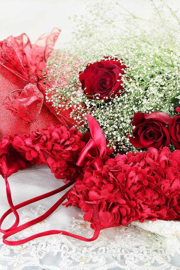 Valentine Photograph - Romance by Stephanie Frey