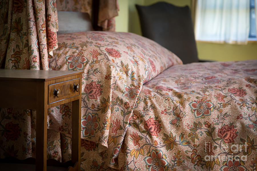 Old Photograph - Romantic Bedroom by Edward Fielding