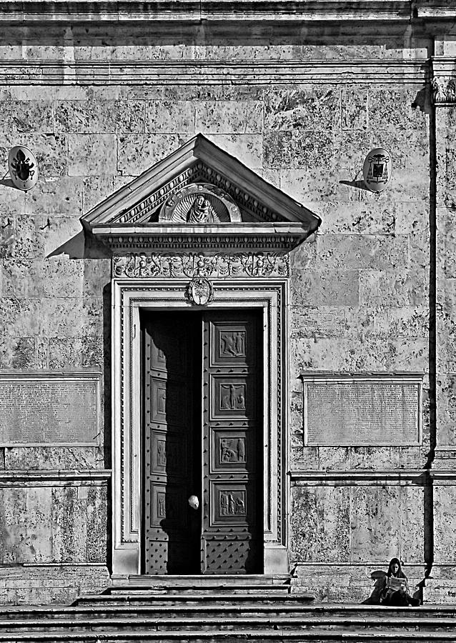 Black And White Photography Photograph - Rome 1 by Steven Richman