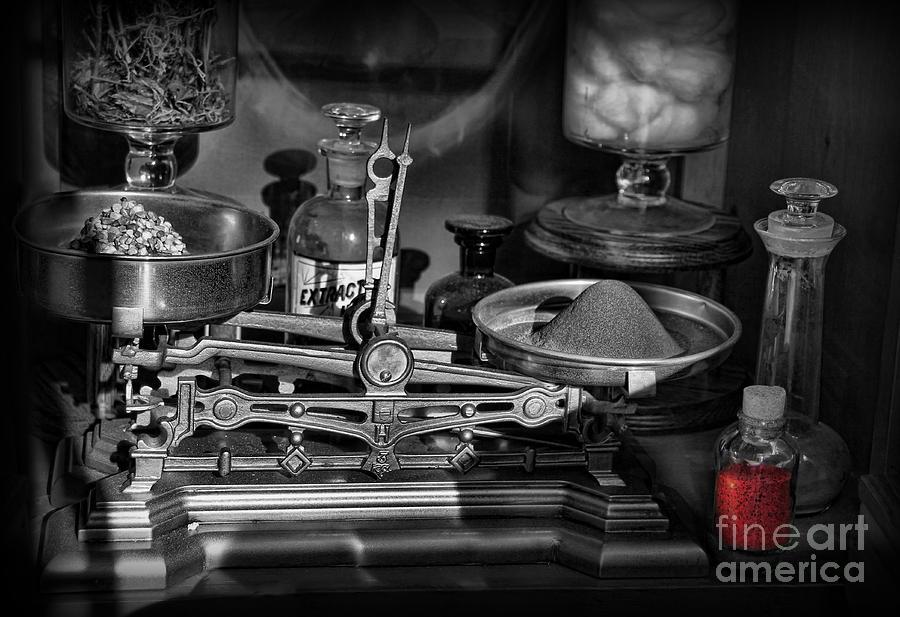 Compounding Photograph - Romeos Elixir Of Death by Lee Dos Santos