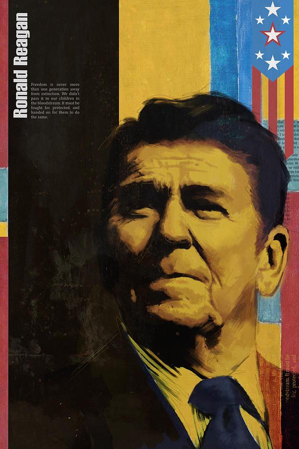 Ronald Reagan Painting