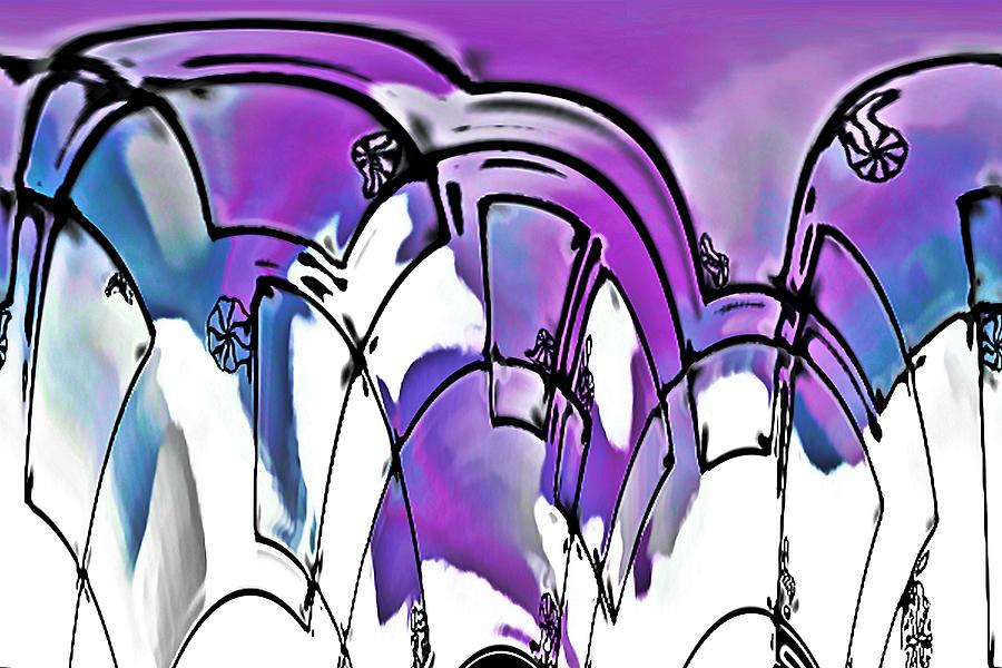 Abstract Digital Art - Rondiss by Susan Maxwell Schmidt