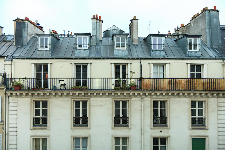 Roof Of Paris Photograph by © Giulio R.c.