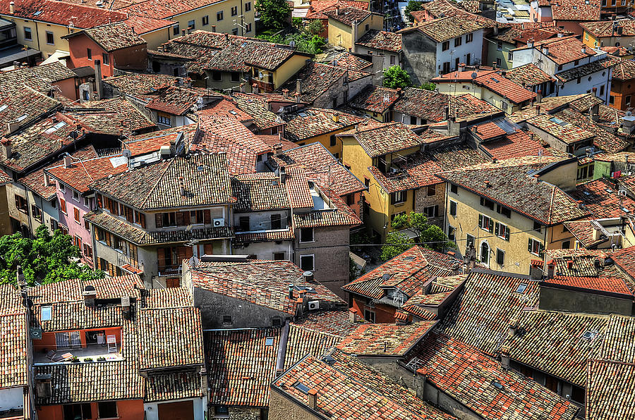 Roofs Photograph by Mento
