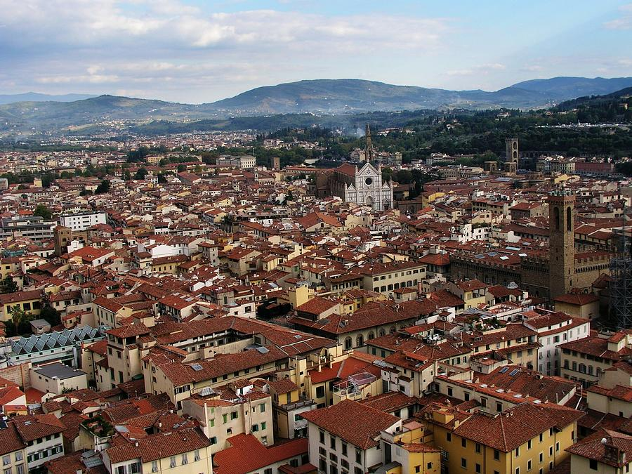 Tuscany Photograph - Rooftops Of Florence by David and Mandy