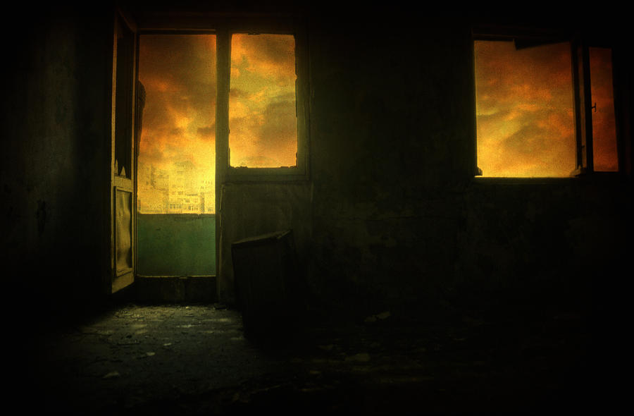 Surreal Photograph - Room 9  by Taylan Apukovska