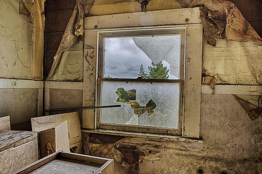Window Photograph - Room With A View by Caitlyn  Grasso