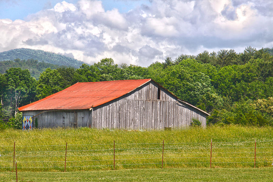 Barn Photograph - Room With A View by Linda A Waterhouse