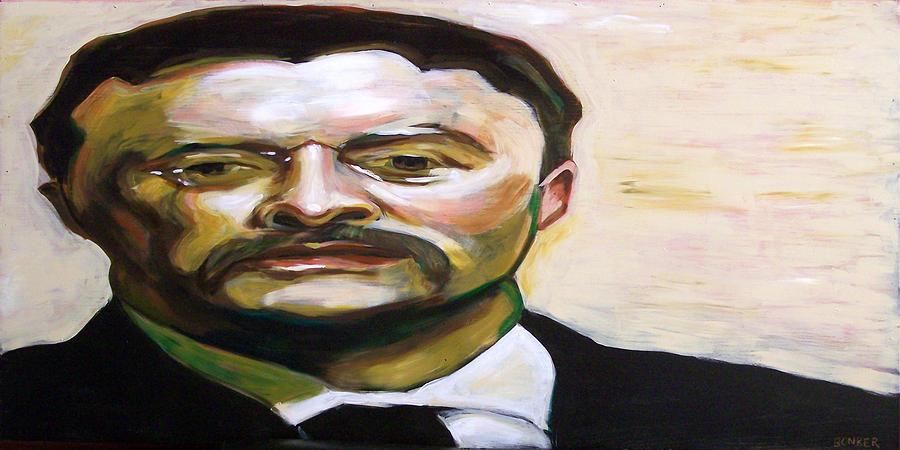Teddy Painting - Roosevelt by Buffalo Bonker