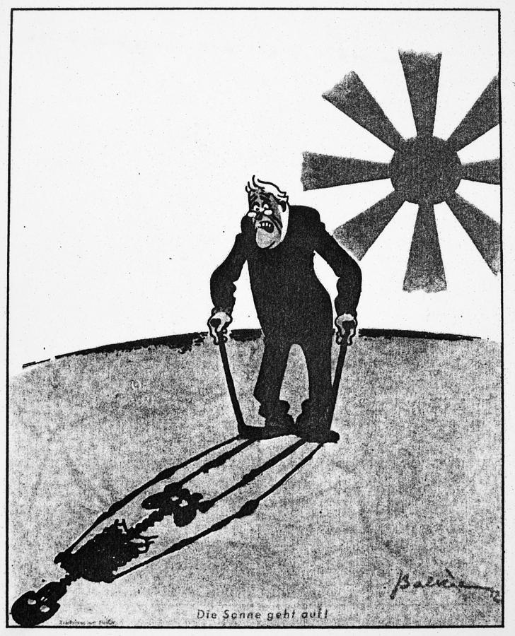 1941 Photograph - Roosevelt Cartoon, 1941 by Granger