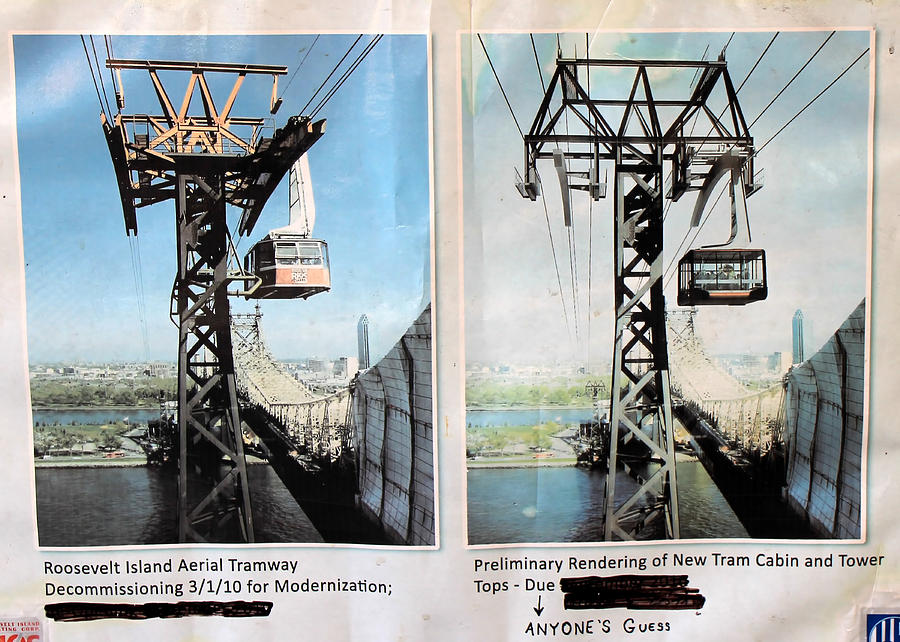 Nyc Photograph - Roosevelt Island Tramway by Andrew Fare