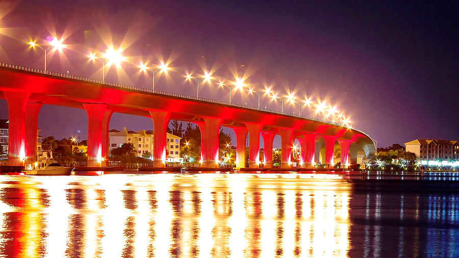 Roosevelt Bridge Photograph - Roosevelt Red by Don Youngclaus