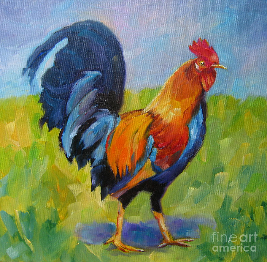 Rooster Proud by Vicki Brevell