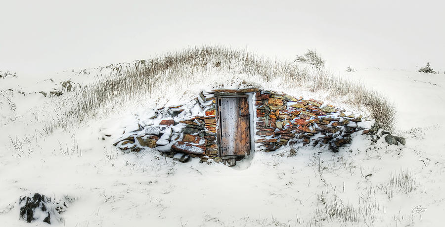 Root Cellar in Winter by Crystal Fudge