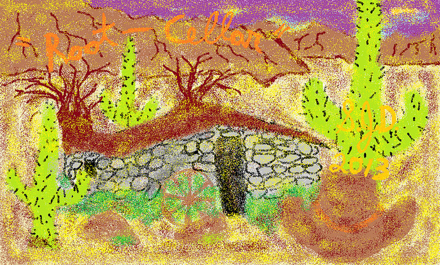 Root Cellar Digital Art by Joe Dillon