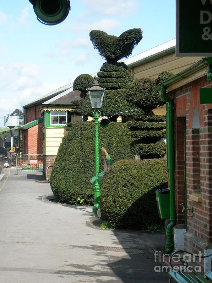 Topiary Relief - Ropley 6 by Robert Harris