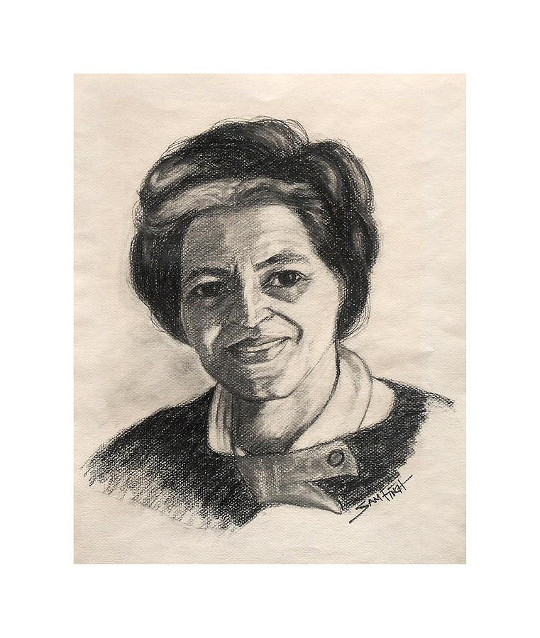 Rosa Parks Drawing