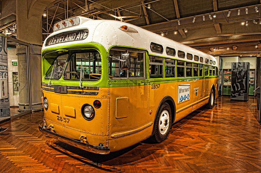Rosa Parks Bus by Keith Swango