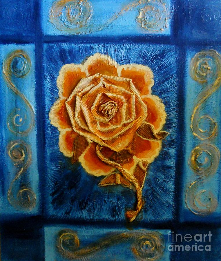 Rose Painting - Rose 1 by Suzanne Thomas