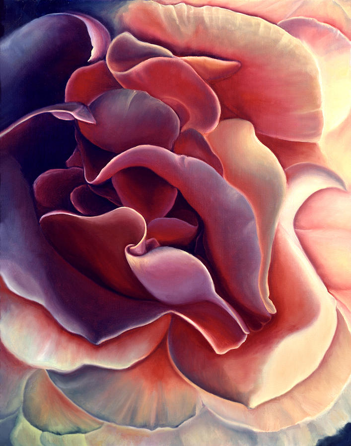 Rose Painting - Rose by Anni Adkins