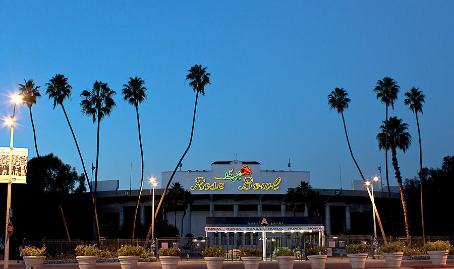 Rose Bowl Photograph - Rose Bowl Sky  by Rollie Robles