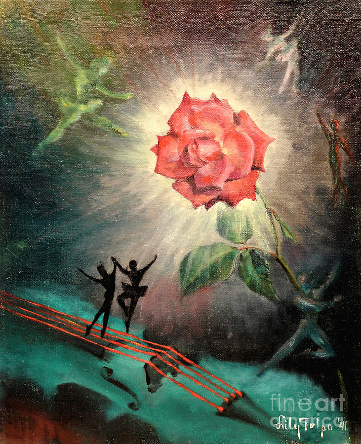 Rose Concerto  1941 by Art By Tolpo Collection