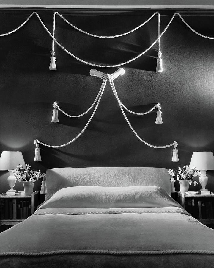 Rose Hobarts Bedroom Photograph by The 3