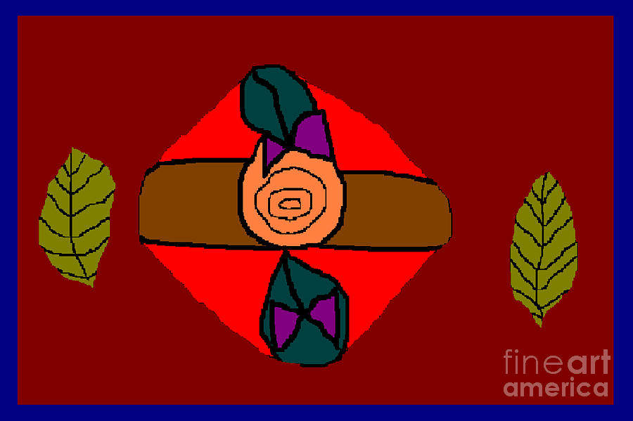 Rose Digital Art by Meenal C