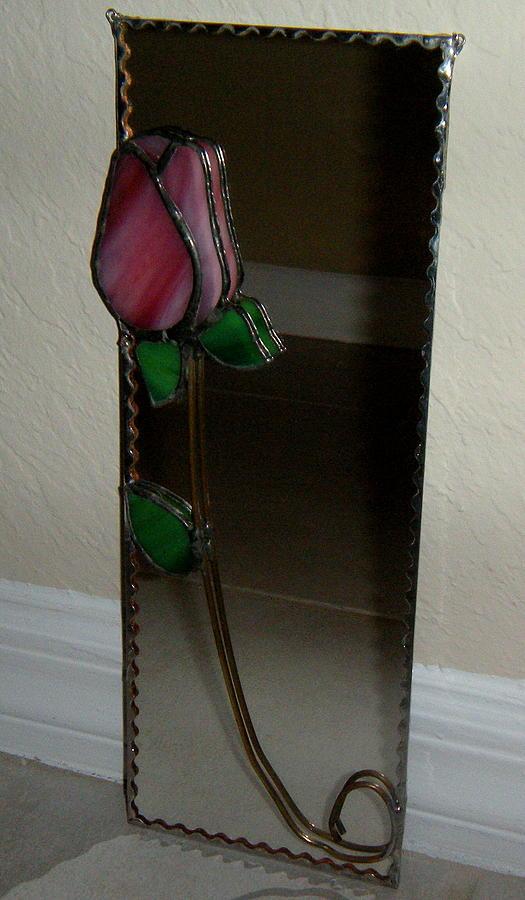 Rose Mirror by Nora Solomon