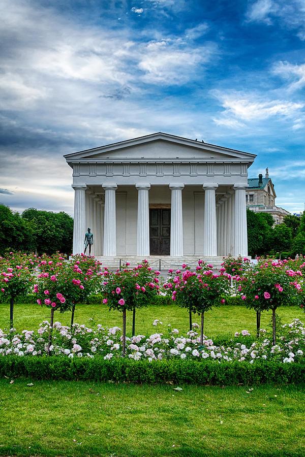 Vienna Photograph - Rose Park by Viacheslav Savitskiy