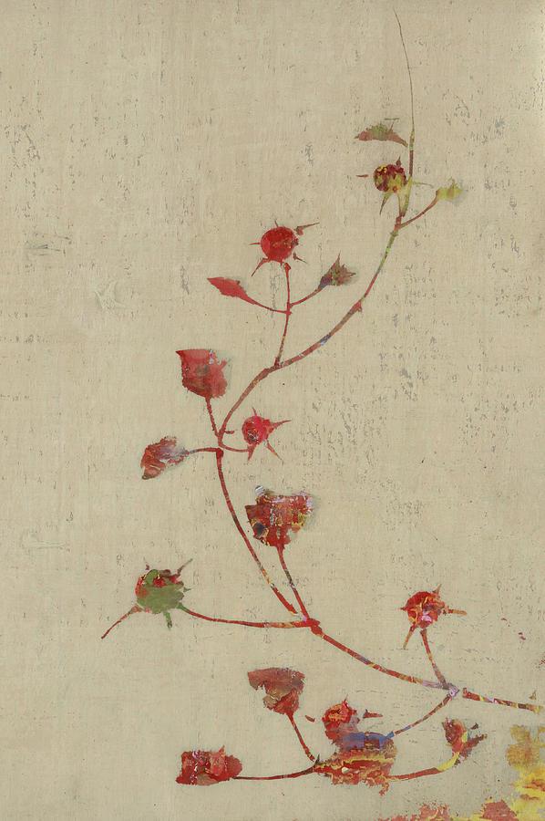 Rose Digital Art - Rosebush by Aged Pixel
